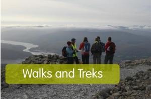 walks and treks with name